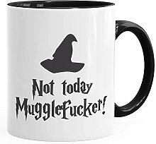MoonWorks® Kaffee-Tasse Spruch Not today