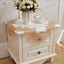 Moonyue Elegante Spitze Tischdecke Für Hochzeit