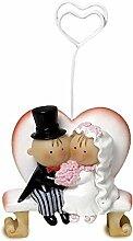 Mopec Z46Fotohalter mit Figuren: Brautpaar Pit &