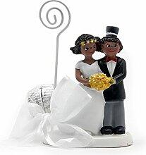 Mopec zb930–Fotohalter Brautpaar mit Hut und