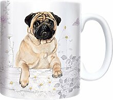 Mops - Pug - Mug - Becher - Chopes