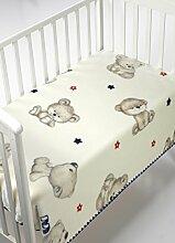 Mora Kidz Babydecke für Wiege, 85% Acryl, 15%