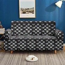 Morbuy 3D Klassisch Sofabezug Sofaüberwürfe für