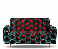 Morbuy 3D Sofabezug Sofaüberwürfe für 1/2/3/4