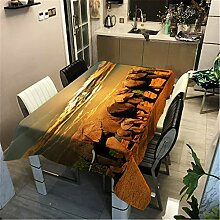 Morbuy Tischdecke Wasserabweisend Schmutzabweisend