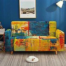 Morbuy Vintage Graffiti Sofabezug Sofaüberwürfe