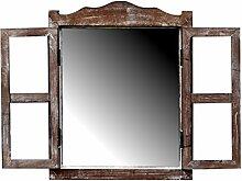 more-decor-de Kleines Spiegelfenster Badspiegel