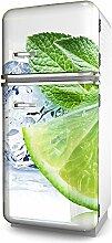 More Design Kühlschrank-Folie Zitrone