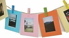 MoreGift4U 10 Farben Multicolor-Papier Bilder