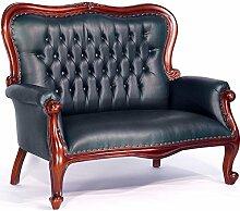 Moreko Sofa Englische Antik-Stil Sitzbank Mahagoni
