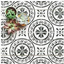 MORELLO FLIESE Wand Möbel Fußboden Schablone