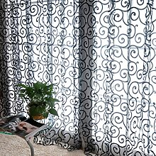 Moresave 8 Farbe Blumen Tüll Voile Tür Fenster Bloßen Vorhang Volants