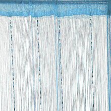 Moresave Linie wulstige Troddel String-Tür-Fenster-Raum-Teiler Vorhang 200x100