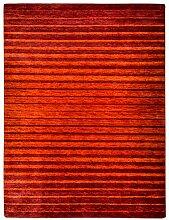 Morgenland Gabbeh NERIO Teppich Orange Einfarbig