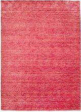 Morgenland Gabbeh Teppich Rosa UNI Einfarbig