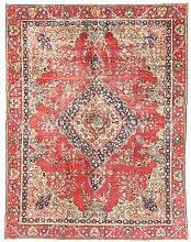 Morgenland Handgeknüpft Rot Teppich Medaillon