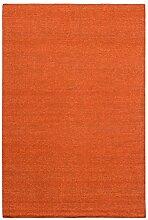 Morgenland Kelim Teppich FANCY 240 x 170 cm Orange