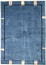 Morgenland Nepal Teppich 237x170 cm Blau