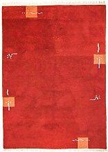 Morgenland Nepal Teppich 240x170 cm Rot