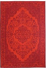 Morgenland Vintage Teppich MILANO 200 x 140 cm Rot