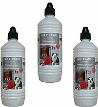 Moritz 3000 ml Bio-Ethanol 96,6% Premium Alkohol