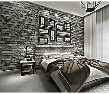 MOROY Retro Vlies Ziegel Esszimmer Wohnzimmer Tv Hintergrund Tapete , A1005