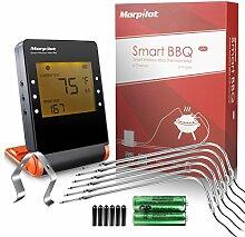 morpilot Digital Grillthermometer mit 6