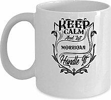 MORRIGAN Kaffee-Haferl Name Tassen Geschenk für