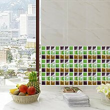 Mosaik Boden Aufkleber Fliesen Aufkleber Küche