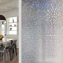 Mosaik Fensterfolien,Leimfrei fenster