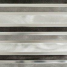 Mosaik Fliese Aluminium silber Verbund Aluminium