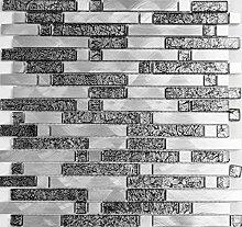 Mosaik Fliese Aluminium Transluzent Verbund