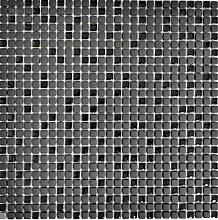 Mosaik Fliese ECO Recycling GLAS Enamel schwarz