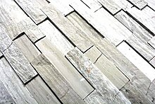 Mosaik Fliese Marmor Naturstein Brick Splitface