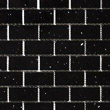 Mosaik Fliese Quarz Komposit Kunststein Brick