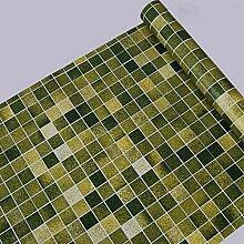 Mosaik-Fliesen-selbstklebende Tapete für