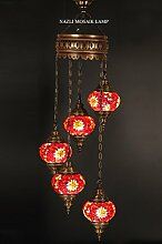 Mosaik Kronleuchter, Türkisch, Mosaik-Lampe,