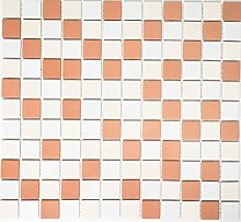 Mosaik-Netzwerk Mosaikfliese Quadrat mix
