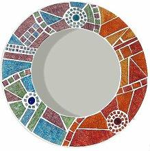 Mosaik Spiegel 40cms. ethischen. Schönes Geschenk.