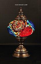 Mosaik Tisch Lampe, Lampe, Türkisch Lampe,