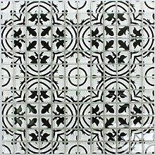 Mosaikfliesen Glas Inspiration Schwarz