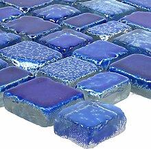 Mosaikfliesen Glas Roxy Blau