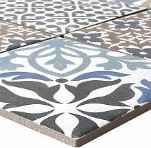 Mosaikfliesen Keramik Campeche Zementoptik |