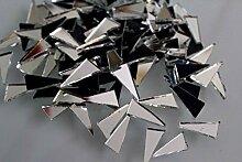 Mosaikfliesen Silber Spiegelglas Fliesen für