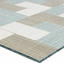 Mosaikfliesen Textiloptik Metall Selbstklebend