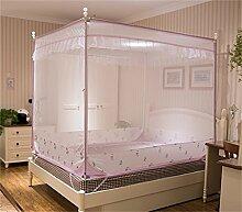 Moskito-Netz-Bett-Überdachungs-Zelt-Vorhänge