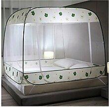 Moskitonetz Bett Baldachin Pop Up Dome Netz