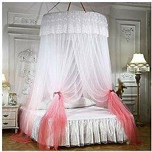Moskitonetz Bett, Große Romantische Farbverlauf