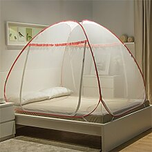 Moskitonetz-Bett-Überdachungs-Zelt-Vorhänge für