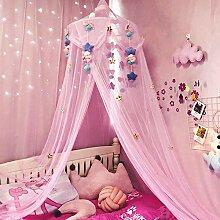 Moskitonetz Rosa Prinzessin Betthimmel Kinder Baby